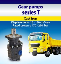 Gear pump series  T