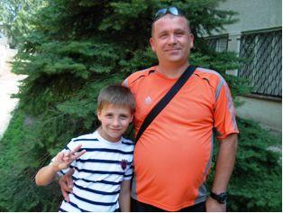 Гайсьонок Владислав та батько Олександр