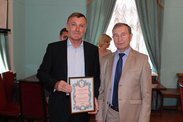 Диплом победителя Всеукраинского конкурса на лучший коллективный договор