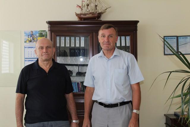 Александр Шамшур и Сергей Олейник
