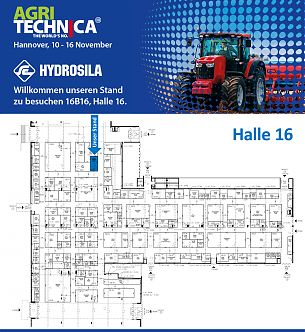 Welcome to visit our stand at the world's largest exhibition - AgriTechnica-2019!