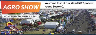 """Hydrosila"" will take a part in the exhibition AGRO SHOW 2018!"