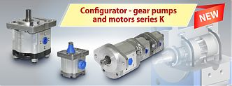 Hydrosila developed a convenient configurator for the selection of pumps and gear motors of the K series!