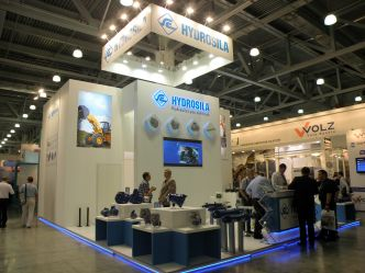 """Hydrosila"" at International Show of Construction Equipment and Technologies 2014: new solutions for construction machinery"