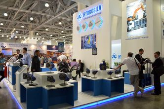 """Hydrosila"" at the exhibition ""Construction Equipment and Technologies - 2015"""