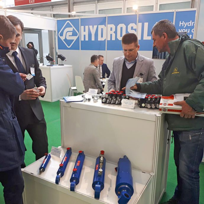 """Hydrosila EU"" - the European representation of Hydrosila for the first time at the largest exhibition of Central and Eastern Europe."