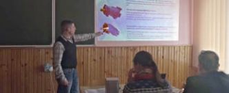Prepare future staff: professionals of Hydrosila in Vinnitsa university told the students about global trends in hydraulics (Video)