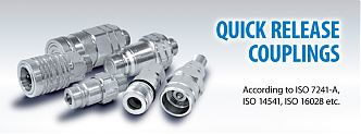 """Hydrosila"" expands the line of quick-release couplings with a new series of ""QS""!"