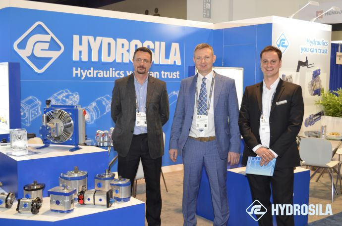 Ukrainian hydraulics is presented at the largest US exhibition