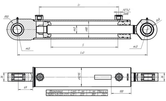 МC80/40х320-3.11(620)