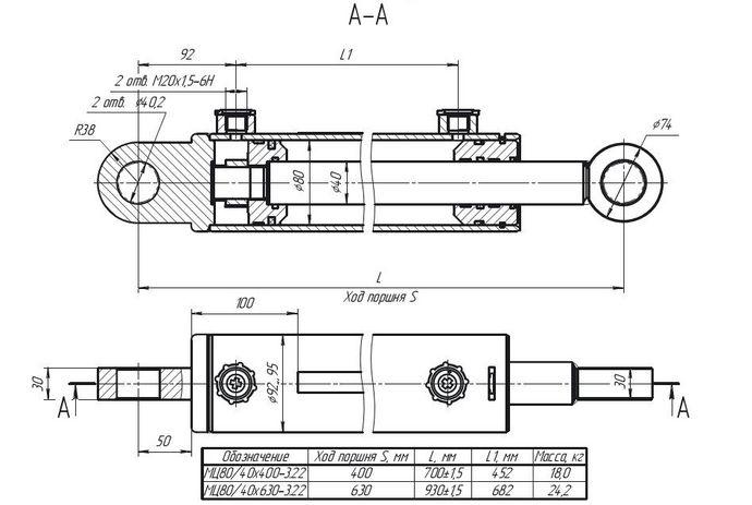 МC80/40х400-3.22(700), МC80/40х630-3.22(930)